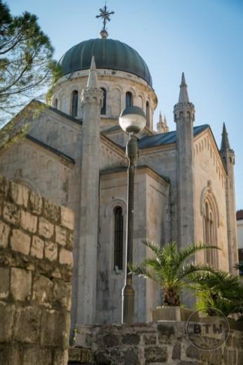 A church in Herceg Novi, Montenegro