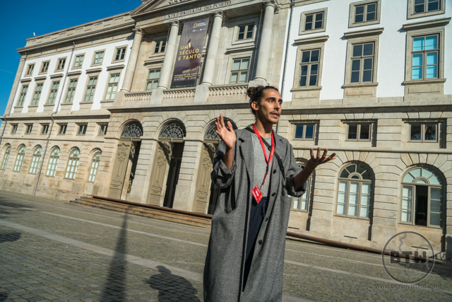 Our tour guide, Diogo, in Porto, Portugal