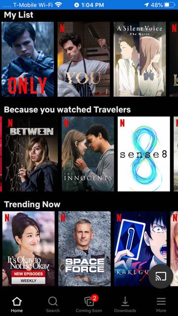 Netflix - Best Travel Apps