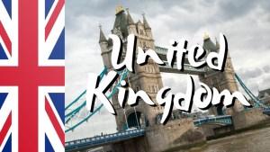 Destinations - United Kingdom
