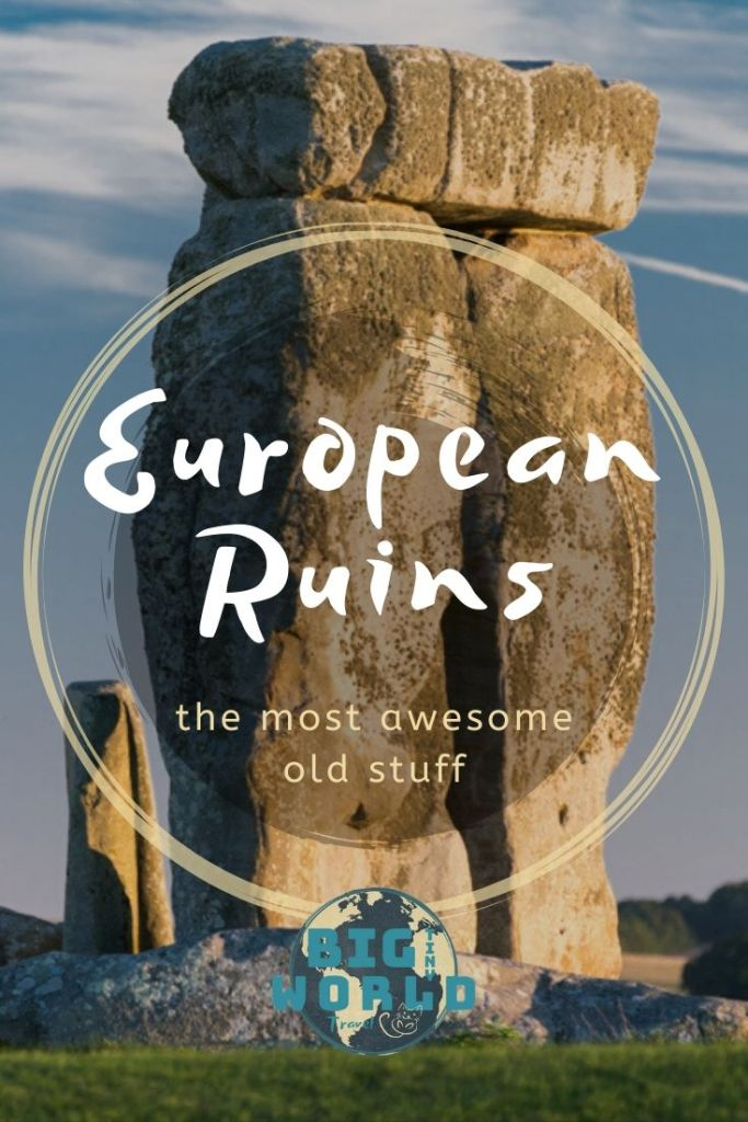 European Ruins: The Most Awesome Old Stuff | We have a crazy love for abandoned buildings and ancient ruins. Want to know our favorites from all over Europe? Read on to find out! | BIG tiny World Travel | #bigtinyworld #europeanruins #ruins #abandoned #europetravel