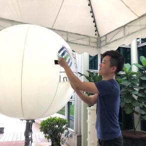 Advertisement Balloon Rental