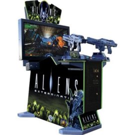 Alien Extermination Arcade Machine Rental