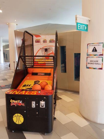 Arcade Baketball Rental