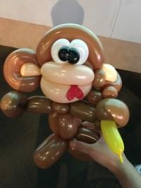 Balloon Monkey Sculpting