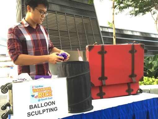 Balloon Sculpting Activity for event