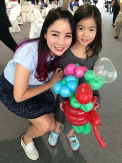Balloon Sculpting for events Singapore