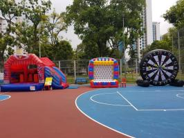 Bouncy Castle and Inflatable Game Rental