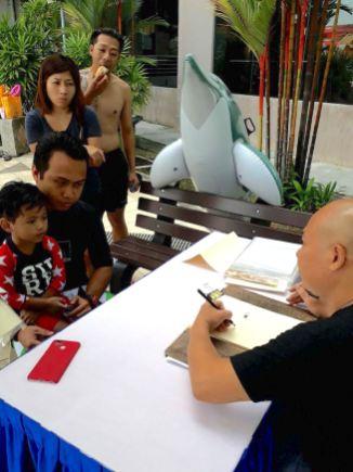 Caricature Artist Singapore