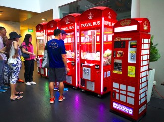 Claw Machines for Hire Singapore