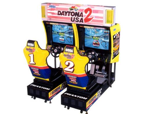 Daytona 2 Arcade Machine Rental