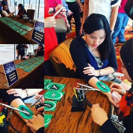 Event Airbrush Tattoo Singapore