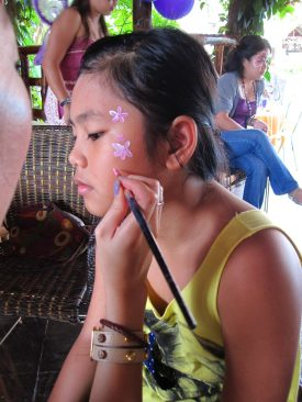 Face Painting Service by Alethea in Singapore