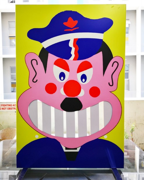 Fun Fair Knock Down Teeth Game Singapore