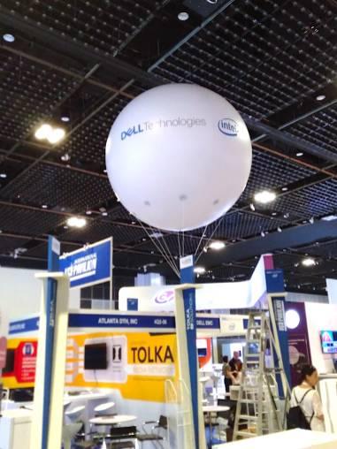 Giant Advertising Helium Balloon