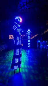 Glow in the Dark Stilt Walker