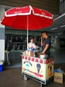 Ice Cream Cart Live Station