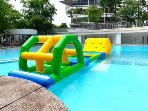 Inflatable Float on Pool Rental