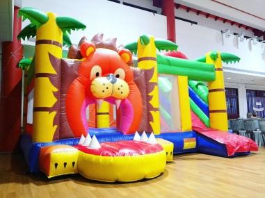 Lion Bouncy Castle Rental