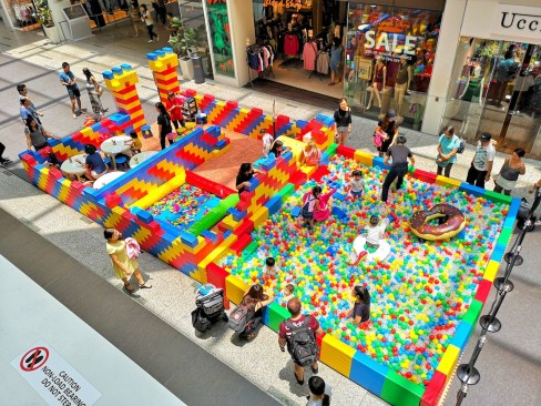 Mega Playground for Events Singapore