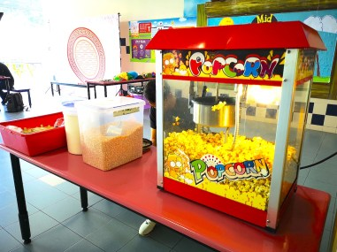 Popcorn Live Food Station