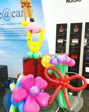 Professional Balloon Sculpting in Singapore