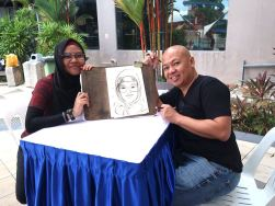 Professional Caricature Drawing for hire