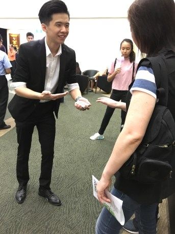 Roving Magician for Events