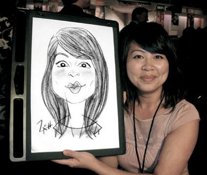 Singapore Caricature