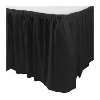 Square Table with Black Skirting for Rent Singapore