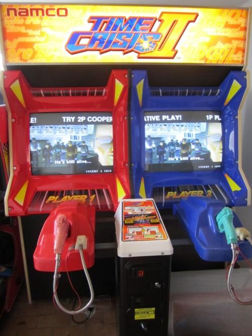 Time Crisis 2 Arcade Machine Rental