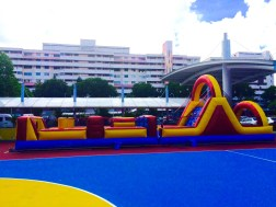 Ultimate challenge Inflatable Obstacle Rental Singapore