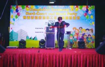 professional stage magician Singapore copy