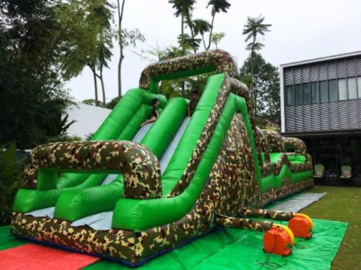 Millitary Inflatable Obstacle