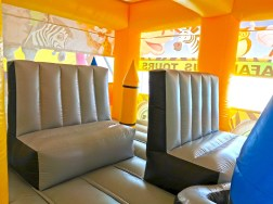 Safari Bus Bouncy Castle