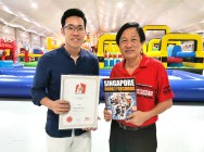 Singapore Book of Records Largest Inflatable Playground