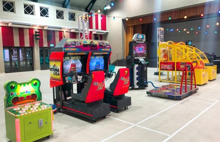 Arcade Game Machines Rental in Singapore
