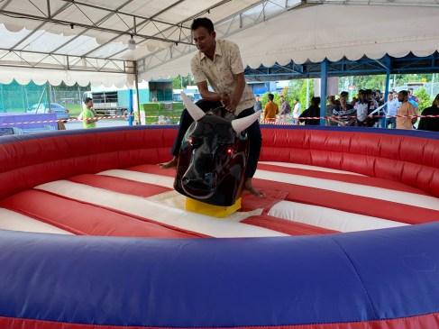 Rodeo Bull Carnival Ride