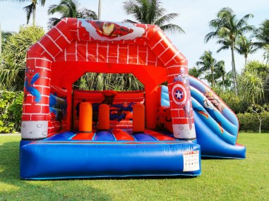 Superhero Bouncy Castle Rental