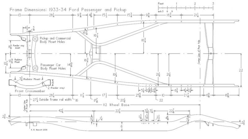 1932 Ford Frame Length | Framebob.org