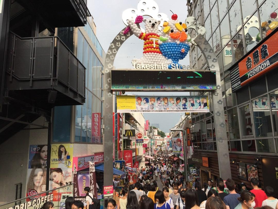 Shopping In Japan - Harajuku Takeshita-dori Shibuya Tokyo Japan