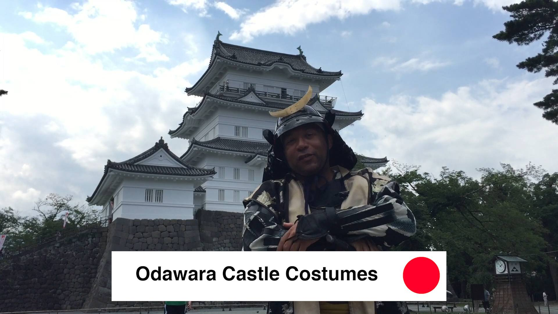 Odawara Castle Costumes - Odawara Castle Japan Guide Review Video - 9 Reasons To See Odawara Castle Kanagawa Japan 🇯🇵 🏯 🌸