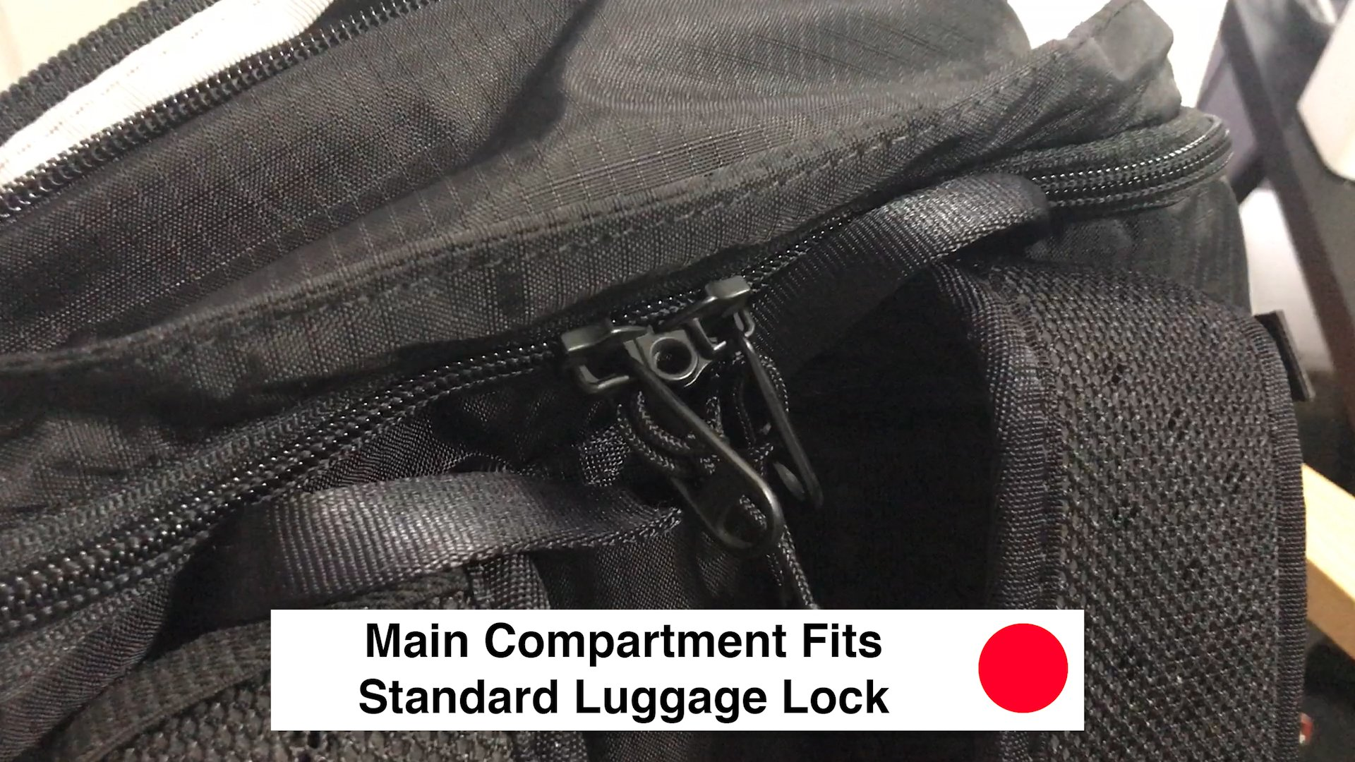 Main Compartment Fits Standard Luggage Lock - Pacsafe Venturesafe X30 Travel Pack - Black Anti Theft Backpack