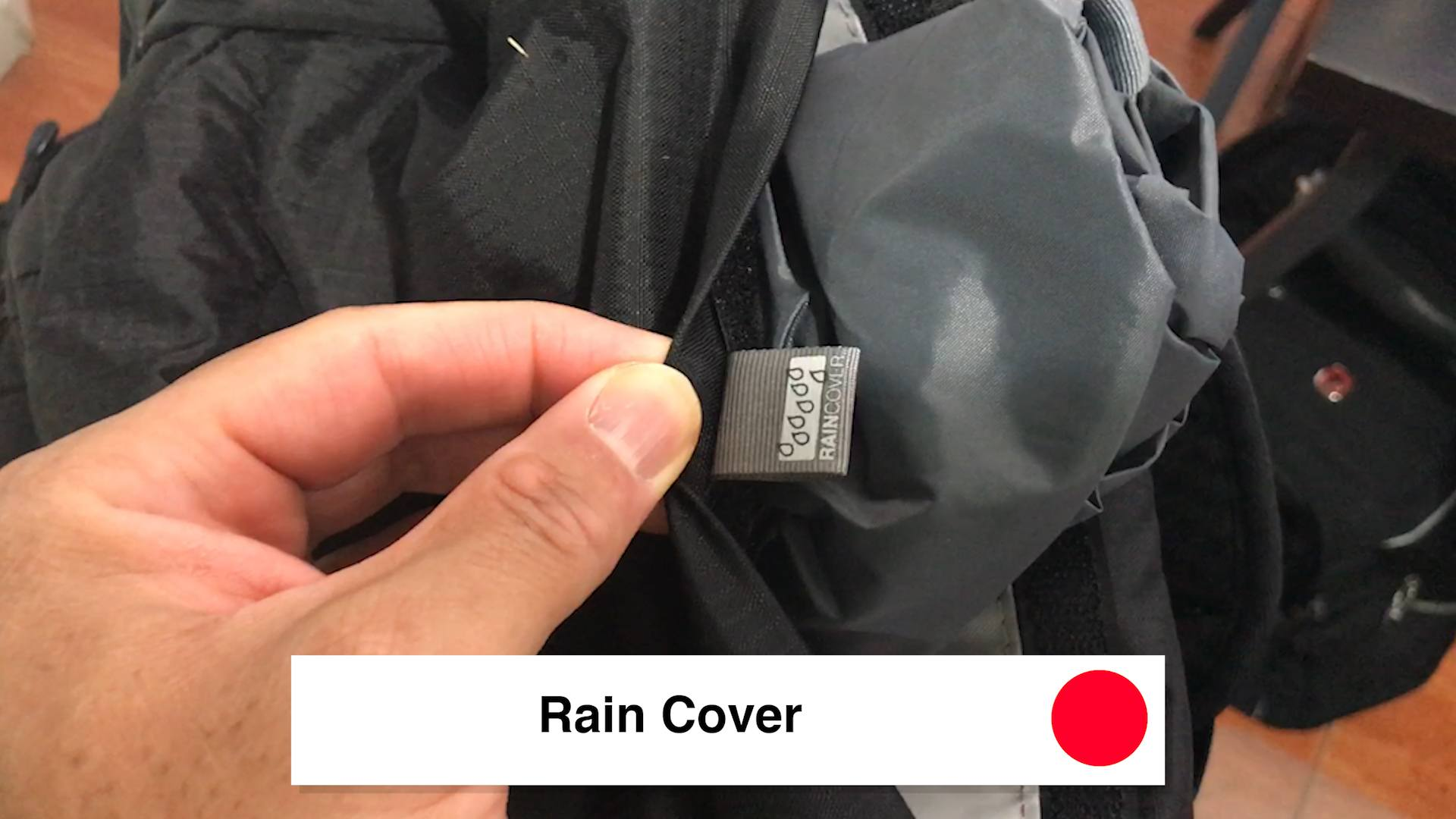 Rain Cover - Pacsafe Venturesafe X30 Travel Pack - Black Pacsafe Anti Theft Backpack