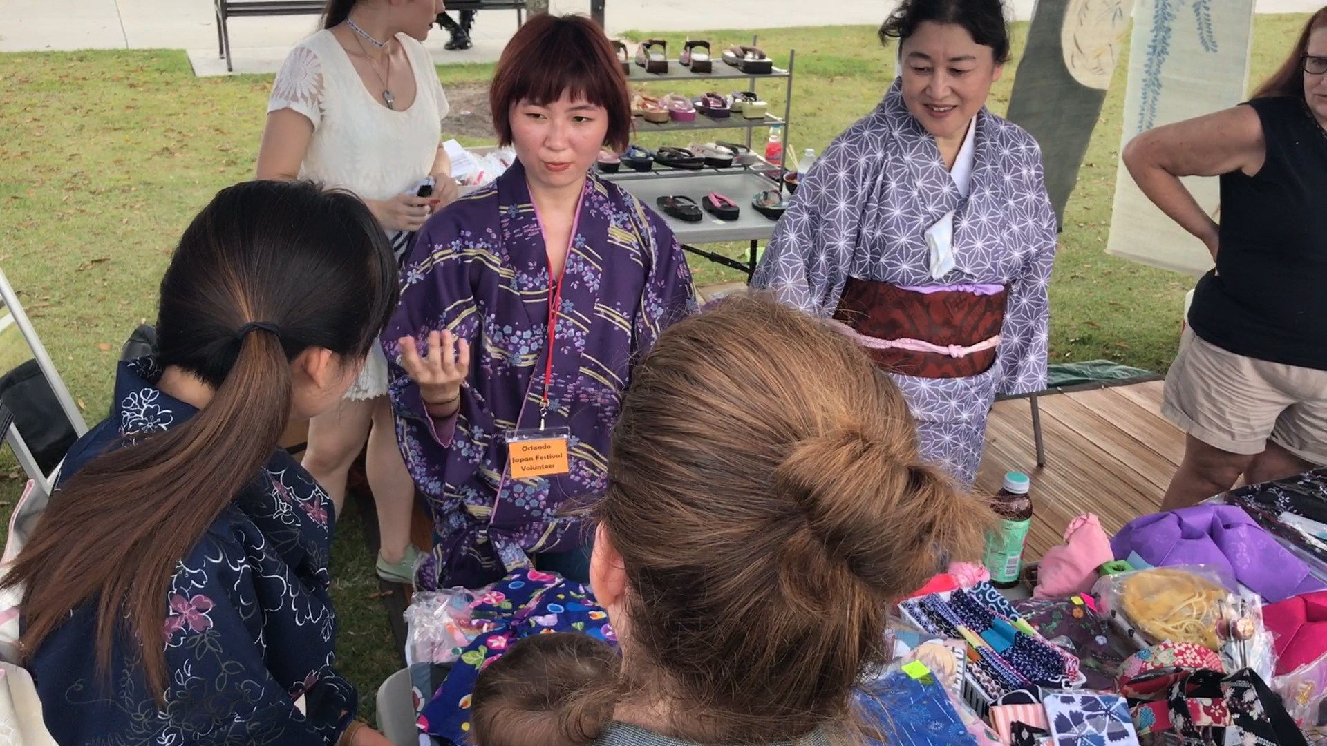 Yayoi Kimono and Accessories - JAO Orlando Japan Festival Review YouTube Video 2017 Lots of Fun Every Year