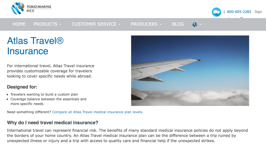 Atlas Travel Insurance 🛫 🌏 🏥