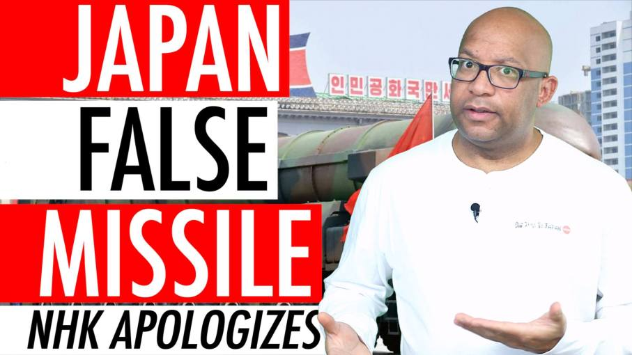 Japan False Missile Alert – Japanese Broadcaster NHK Apologizes For North Korean Missile Alert 🇯🇵 🚀 ⚠️