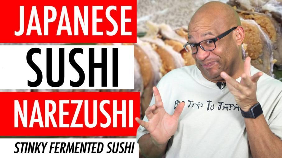 Japanese Sushi Narezushi Funazushi Fermented Sushi - Stinky Ancient Japanese Sushi Making 🇯🇵 ⛩️ 🍣