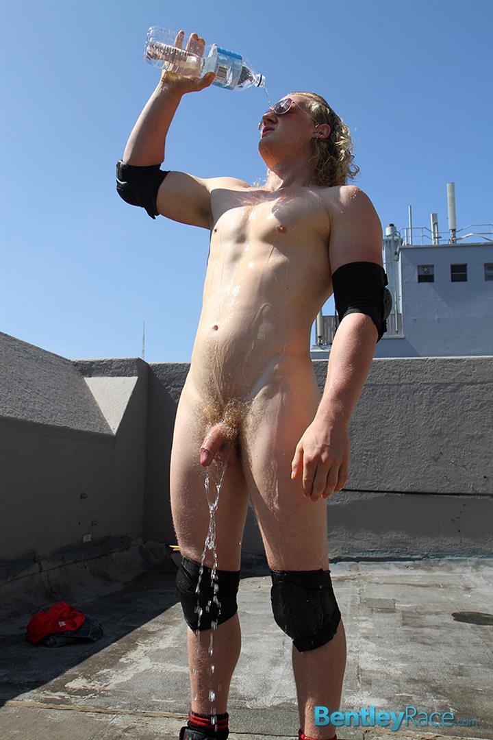 Teen Takes Panties Off Public