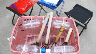 ワンランク上の潮干狩り道具 ~たくさん採るアイツの持ち物は?~